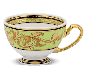Tea cup 0.11 L - Palace - Thien Huong (green)