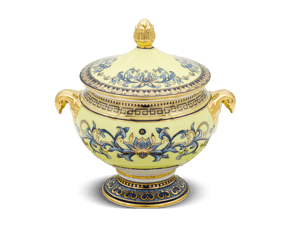 Soup tureen 0.35 L + Lid - Palace - Royal Lotus