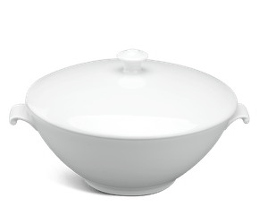 Soup tureen 1.0 L + lid - Daisy White