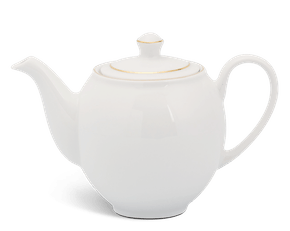 Tea pot 0.35 L + lid - Camellia - Gold Line