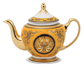 Tea pot 1.3 L + lid - Palace - King Yellow (Lotus)