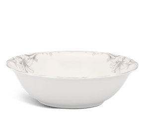 Soup bowl 26 cm - Queen Decorated platinum