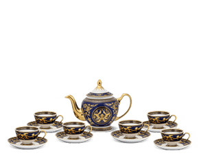 Tea set 0.8 L - Palace - King Blue (Lotus)