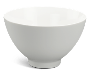 High soup bowl 20 cm - Daisy LY'S - White Ivory