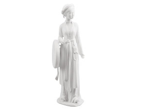 Beauty of North - Sculpture - White