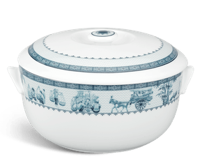 Soup tureen 18 cm + lid - Jasmine - Rural side
