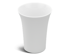 Cup 0.25 L - Harmony LY'S - White Ivory