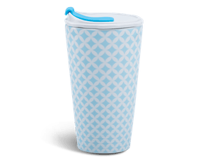 Porcelain Tumbler 0.48L and Straw Lid (Type 1) - Penny 2 (LTI)