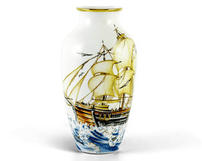 Gold lined vase 27 cm - Vase - Smooth Sailing