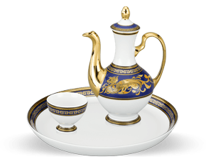 Tea set 0.27 L - Palace - King Blue (dragon)