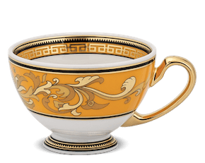 Tea cup 0.20 L - Palace - King Yellow (Lotus)