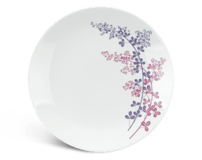 Flat round plate 22 cm - Daisy - Forever