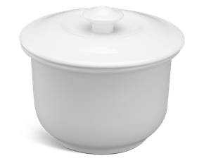 Soup tureen 0.88 L + lid - Daisy White