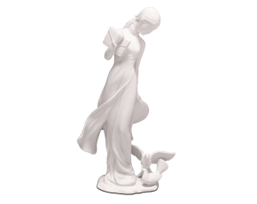 The inner beauty - Sculpture - White