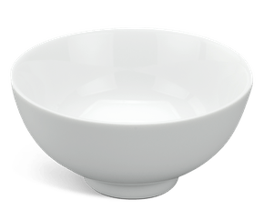 Soup bowl 11.5 cm - Jasmine - White