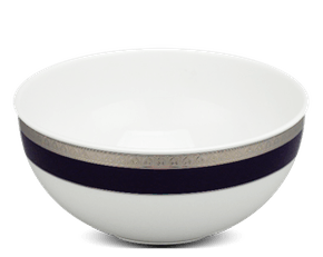 High soup bowl 19 cm - Sago - Cycad (blue-emboss)