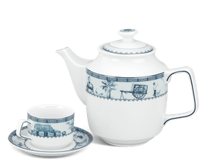 Tea set 1.1 L - Jasmine - Rural side