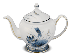 Tea pot 1.3 L + lid - Palace - Gold Lotus 1