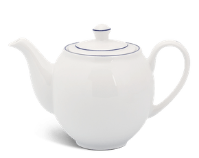 Tea pot 1.1 L + lid - Camellia - Blue line