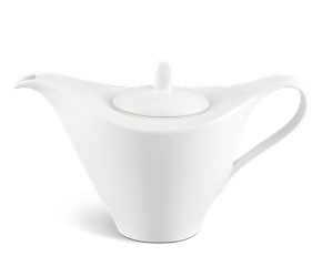 Coffee pot 1.1 L + lid - Harmony LY'S - White Ivory