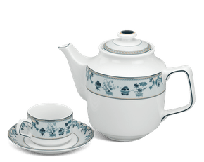 Tea set 0.7 L - Jasmine -  Four precious