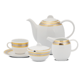 Coffee set 1.3 L - Sago - Rose