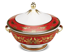 Soup tureen 22 cm + lid - Palace - King Red