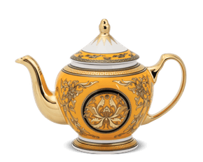 Tea pot 0.8 L + lid - Palace - King Yellow (Lotus)