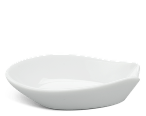 Spoon rest - Jasmine  - White