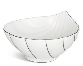 Salad bowl 15 x 14.3 cm - Fish & clam - Platinum line