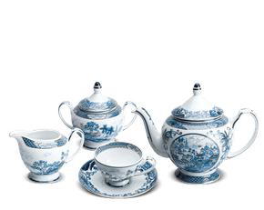 Tea set 1.3 L - Palace - Vietnam spirit (gold line)