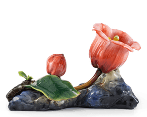 Bell Flower 22.5 cm - Red (flat stone)