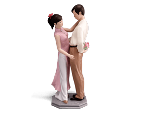 The sign of love - Sculpture - Figurine