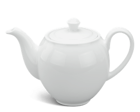 Tea pot 0.35 L + lid - Camellia - White