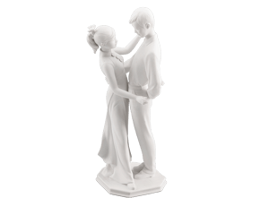 The sign of love - Sculpture - White