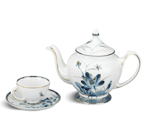 Tea set 0.8 L - Palace - Gold Lotus 1