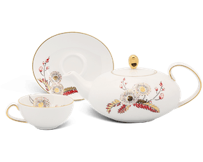 Ellipse Tea Set 0.47L - Anna - Shy Mimosa