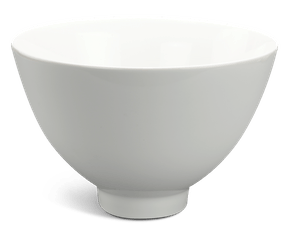High soup bowl 23 cm - Daisy LY'S - White Ivory