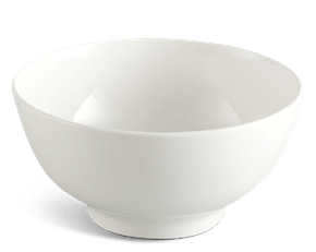 High soup bowl 20 cm - Jasmine LY'S - White Ivory