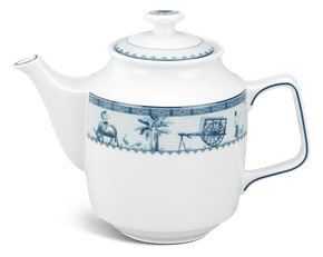 Tea pot 1.1 L + lid - Jasmine - Rural side