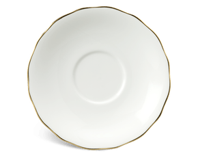 Soup bowl saucer 15 cm - Peony IFP - Gold line
