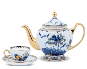 Tea set 0.8 L - Palace - Gold Lotus 2