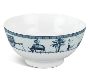High soup bowl 18 cm - Jasmine - Rural side