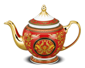 Tea pot 1.3 L + lid - Palace - King Red