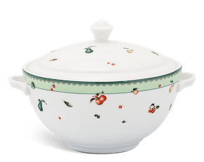 Soup tureen 18 cm + lid - Camellia - Summer ripe