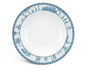 Soup plate 23 cm - Jasmine - Rural side