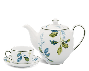 Tea set 0.8 L - Camellia - Foliage