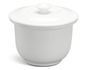 Soup tureen 0.33 L + lid - Daisy LY'S - White Ivory