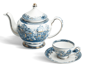 Tea set 0.8 L - Palace - Homeland's Spirit-gold