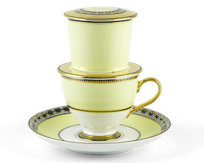 Golden Arc Tea Filter Set 0.20L - Anna - Gold Royal
